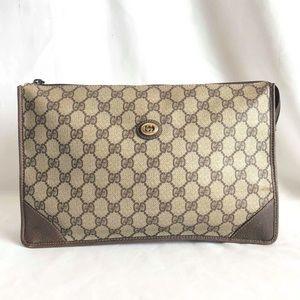 Gucci Vintage GG Supreme Cosmetic Bag